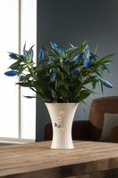 Belleek Azure Vase